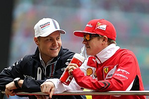 Bottas says beating Raikkonen is important