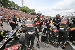 Lotus staff don't deserve late-season ordeal - Grosjean