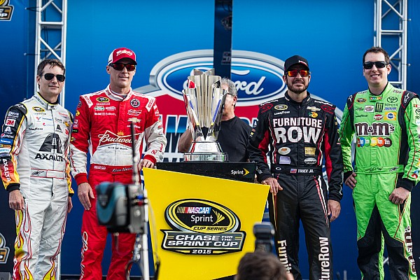 NASCAR Sprint Cup Breaking news Top 10 moments from the 2015 NASCAR Sprint Cup season