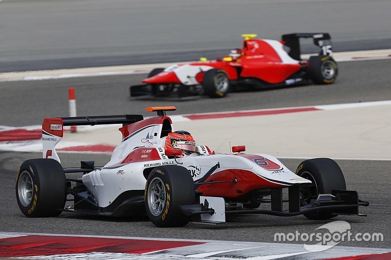 Ocon scoort pole en leiding in GP3-kampioenschap