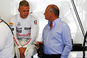McLaren: Magnussen