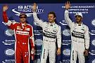 """阿布扎比大奖赛排位赛:汉密尔顿难阻罗斯伯格""""六连杆"""""""