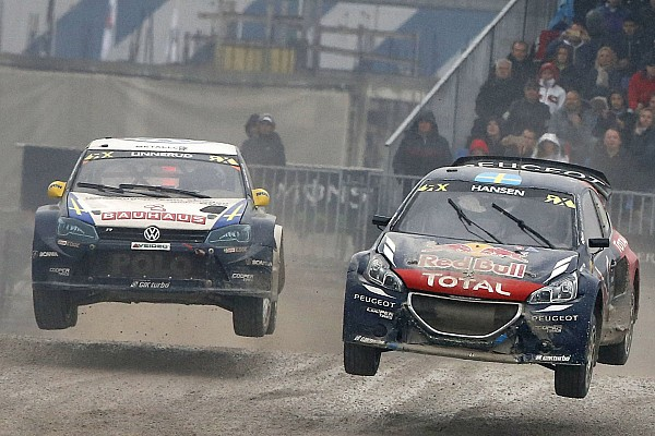 World Rallycross Today's World RX action postponed for safety reasons due to track conditions