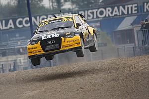 WK Rallycross Raceverslag Solberg pakt World RX-titel, Larsson wint finale
