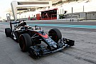 Formula 1 Vandoorne ends Abu Dhabi tyre test on top
