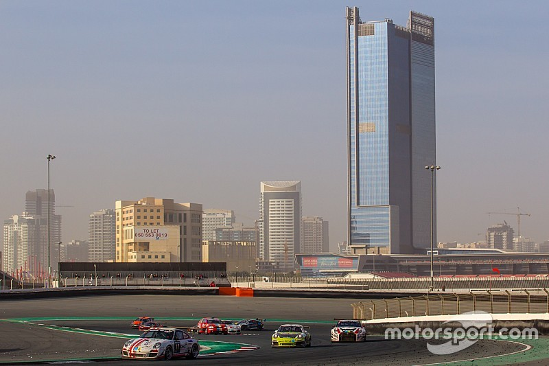 100 cars on the grid and extensive media coverage for 24H Dubai
