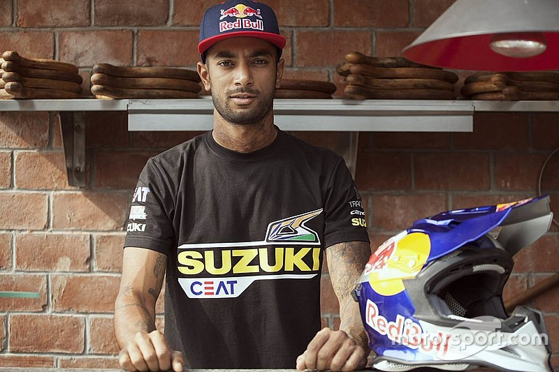 Santosh confirms Dakar entry, switches to Suzuki
