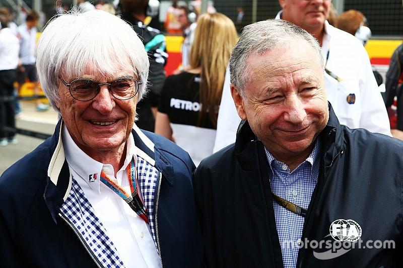 Ecclestone: 'Todt moet stapje terug doen van F1'