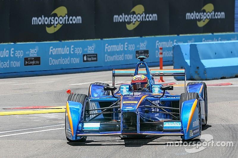 Toch één punt voor Frijns in lastig Formule E-weekend