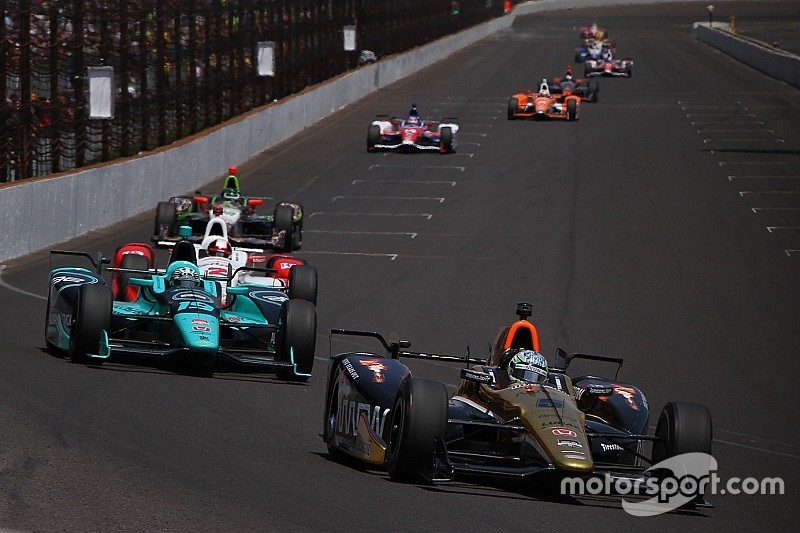 Aero alterations among IndyCar's 2016 rule changes