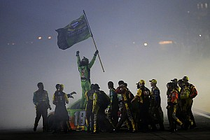 NASCAR Sprint Cup Special feature Top Stories of 2015; #3: Injured Kyle Busch makes epic comeback to win Cup crown