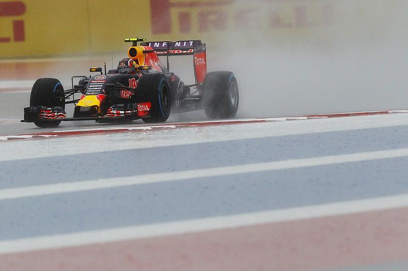 Red Bull stuurt Ricciardo en Kvyat naar regenbandentest