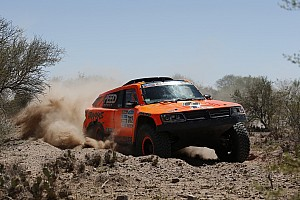 Dakar Stage report Robby Gordon presses on in Dakar Rally with eleventh place finish in stage eleven