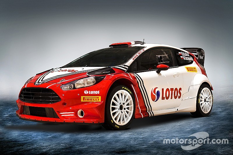 Kubica s brc monte fiesta revealed for Kubica cars