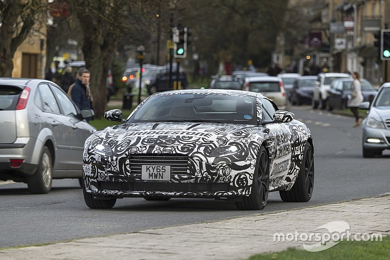 Gespot: dit is de nieuwe Aston Martin DB11 met V12