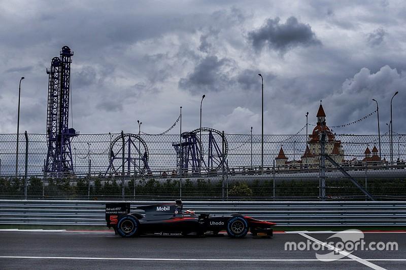 Geen GP2 en GP3 in Sochi in 2016