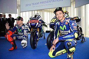 "MotoGP Interview Keeping Rossi and Lorenzo at Yamaha in 2017 ""tricky"""
