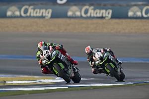 """World Superbike Breaking news Sykes: """"Great feeling"""" to break Rea streak in Thailand fight"""