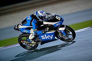 Moto3 Qualifyingbericht Romano Fenati startet in Katar von der Pole, Öttl stark
