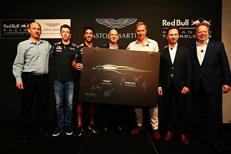 У Aston Martin підписали контракт з Red Bull