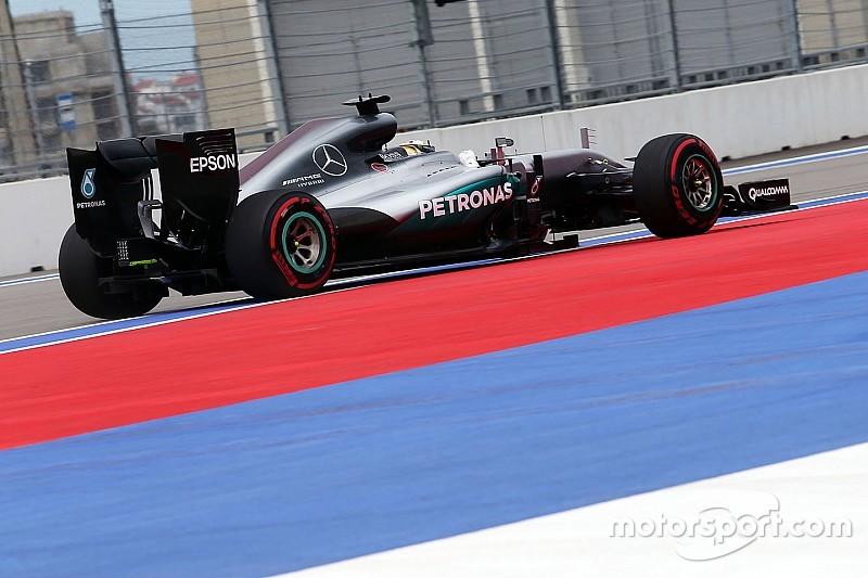 俄罗斯大奖赛FP3:梅赛德斯互刷时间,汉密尔顿再拔头筹