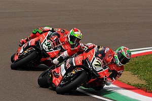 World Superbike Race report Chaz Davies does the double at Imola