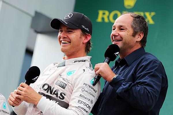 Formula 1 Breaking news Berger handling Rosberg's F1 contract talks