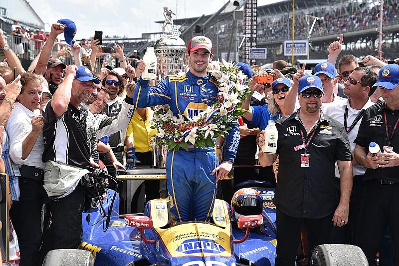 Тест-пілот команди Формули 1  Алекс Россі виграв соті перегони Indy 500