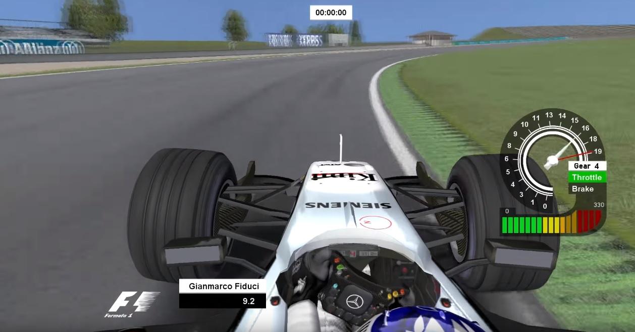 Igazi retro: Raikkonen a McLarennel az rFactorban