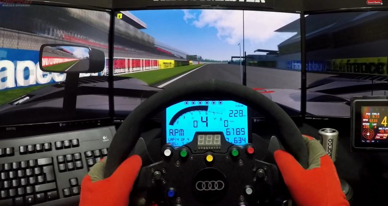 Otthon a négy fal között te is lehetsz Michelisz, akár egy Audi R15 Tdi volánja mögött Le Mans-ban