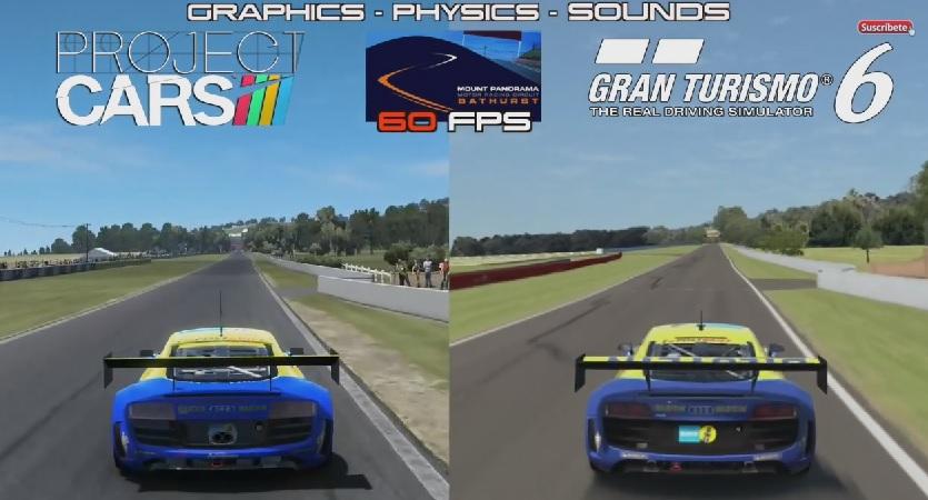 Project CARS a Gran Turismo 6 ellen: Generációk harca egy Audi R8 Ultrával