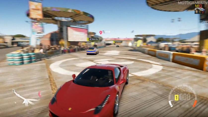 Forza Horizon: A gyönyörű és nagyon erős Ferrari 458 Italia