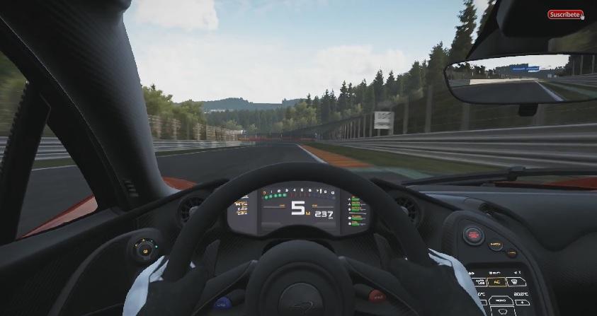 Project CARS: Ultra-durva grafika a játékban! McLaren P1 Spa-Francorchamps-ban!