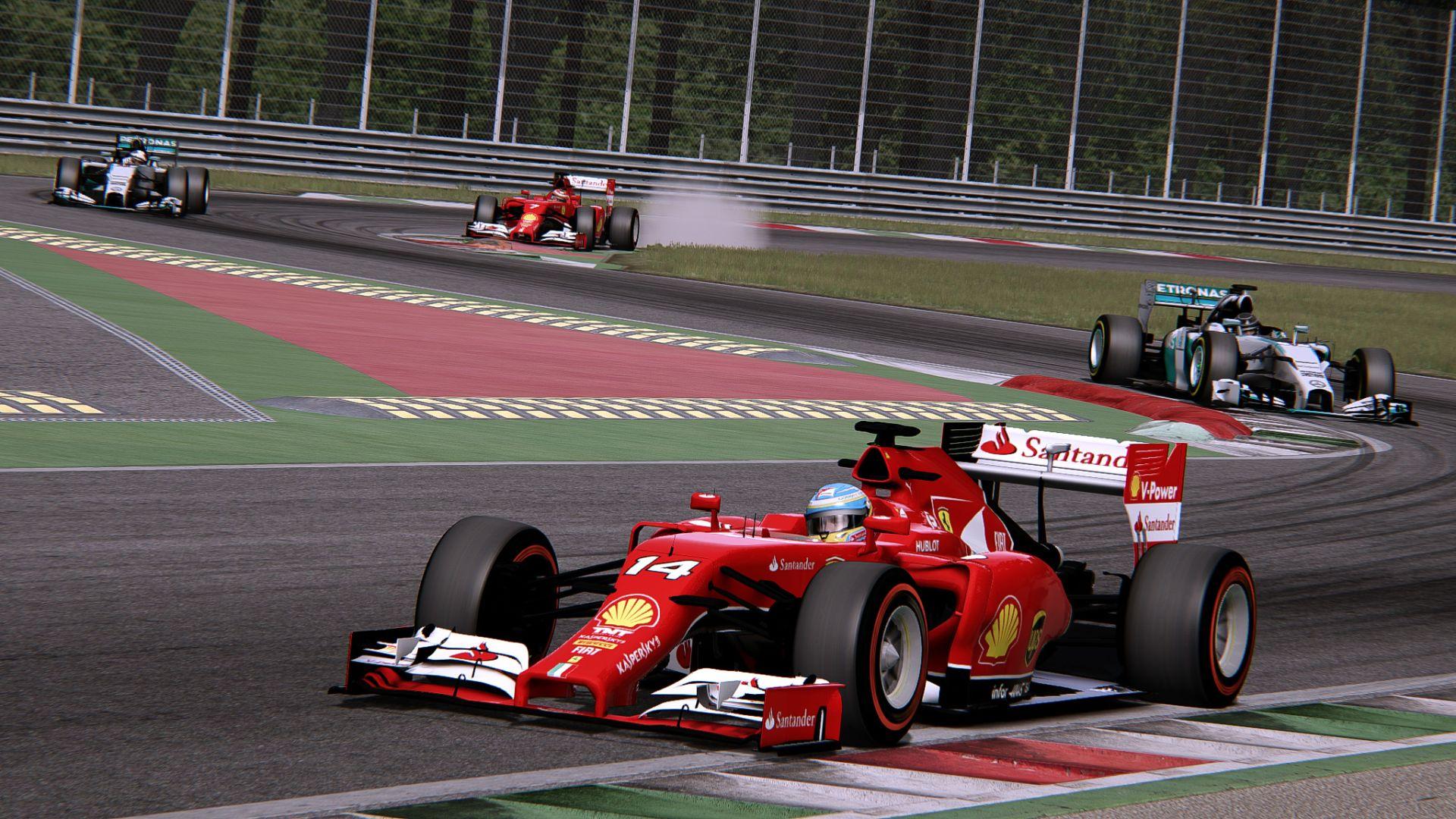 F1 2014 (AC): Egy kör Alonsóval és a Ferrarival Monzában