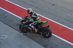 World Superbike Race report Misano WSBK: Rea doubles up to lead third straight Kawasaki 1-2