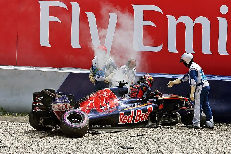 Kvyat toujours en colère contre les vibreurs du Red Bull Ring