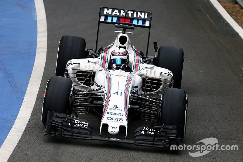 匈牙利大奖赛:威廉姆斯将使用新底板