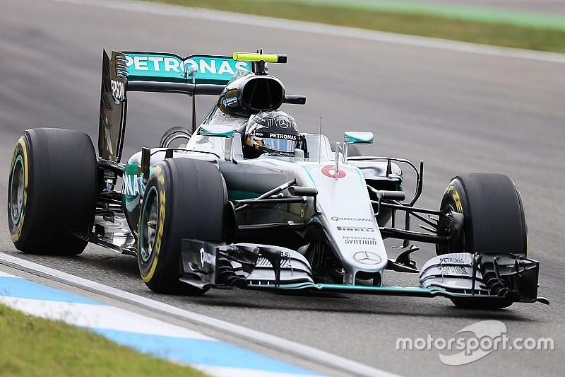 德国大奖赛FP3:罗斯伯格蝉联第一,红牛虎视眈眈