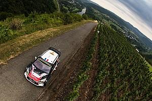 WRC 速報ニュース WRCドイツ、シトロエンがフロントを全損する大クラッシュでコ・ドラが骨折