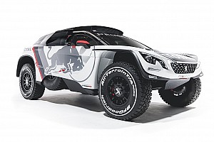达喀尔 突发新闻 标致发布全新达喀尔拉力赛车 3008 DKR