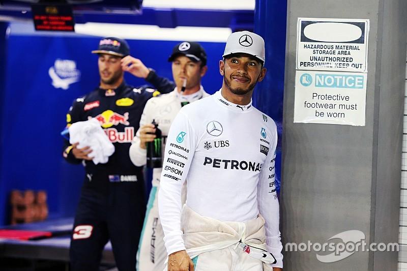 汉密尔顿不理解赛车竞争力不足原因