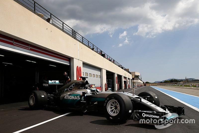 135 Runden in Le Castellet: Mercedes testet Regenreifen für Pirelli