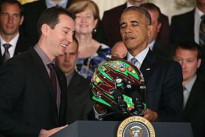 NASCAR Sprint Cup Últimas notícias Kyle Busch é recebido por Obama na Casa Branca