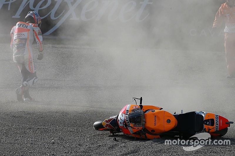 MotoGP Japan: Dani Pedrosa mit Schlüsselbeinbruch