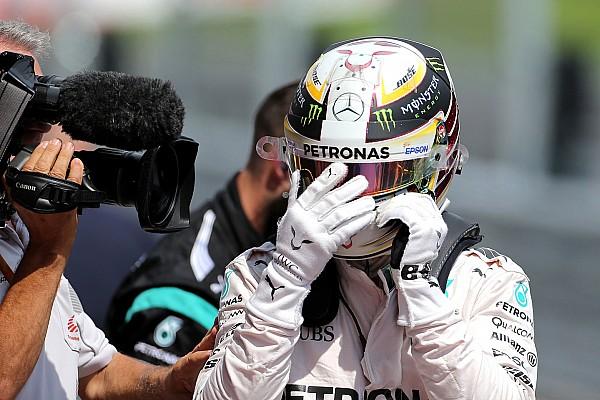 Formule 1 Réactions Hamilton