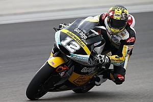 Moto2 Prove libere Valencia, Libere 1: Luthi salta davanti a Corsi nei minuti finali