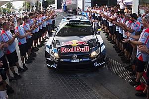 WRC Curiosità Il team Hyundai omaggia la Volkswagen con il