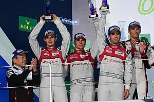 WEC 速報ニュース 【Audi press center】アウディ、今シーズン2位の成績で18年間のWECに別れを告げる