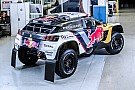 Dakar Fotogallery: la nuova livrea della Peugeot 3008 DKR per la Dakar 2017