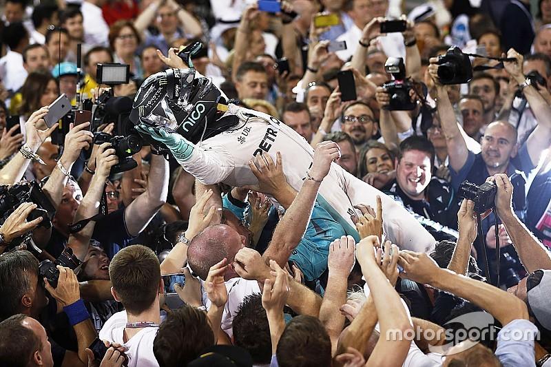 【F1アブダビGP】レースレポート:ハミルトン優勝も、チャンピオンはロズベルグの頭上に輝く